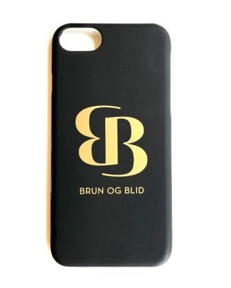 Svart iPhone 8 deksel
